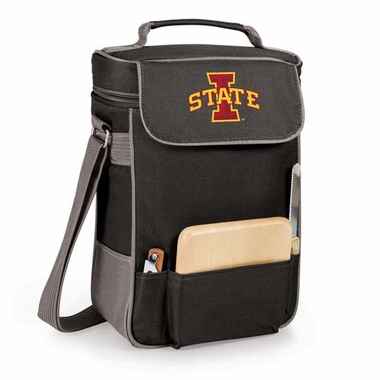 Iowa State Duet Compact Picnic Tote (Black)