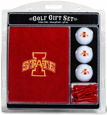 Iowa State Embroidered Towel Gift Set