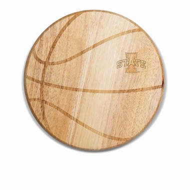 Iowa State Free Throw Cutting Board