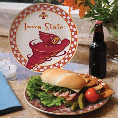 Iowa State Gameday Ceramic Plate