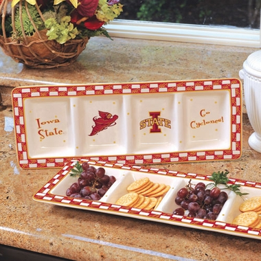 Iowa State Gameday Relish Tray