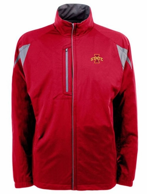 Iowa State Mens Highland Water Resistant Jacket (Team Color: Red)