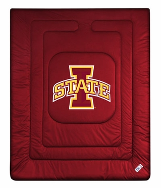 Iowa State Jersey Material Comforter