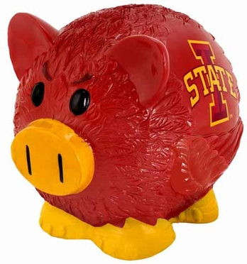 Iowa State Large Thematic Piggy Bank