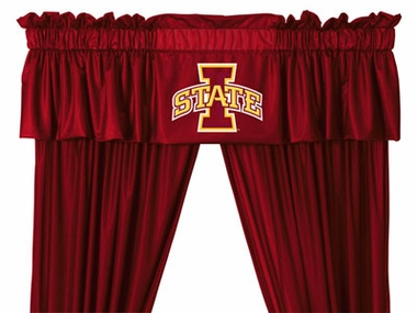 Iowa State Logo Jersey Material Valence