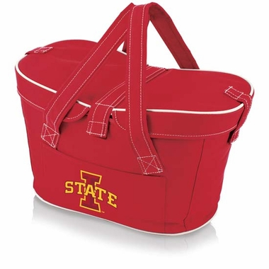 Iowa State Mercado Picnic Basket (Red)