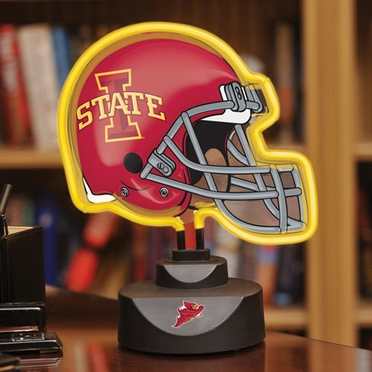 Iowa State Neon Display Helmet