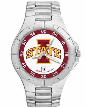 Iowa State Pro II Men's Stainless Steel Watch