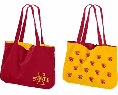 Iowa State Reversible Tote Bag
