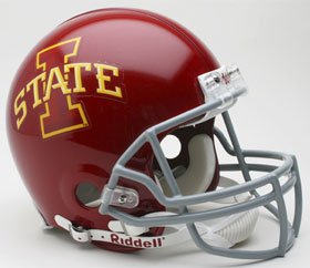 Iowa State Riddell Full Size Authentic Helmet