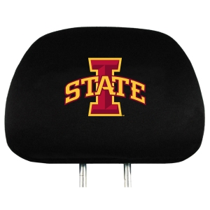Iowa State Set of 2 Headrest Covers