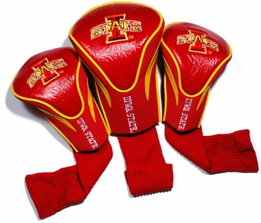 Iowa State Set of Three Contour Headcovers
