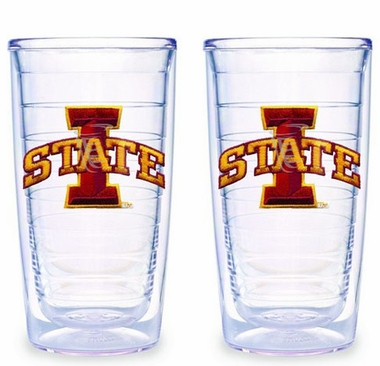 Iowa State Set of TWO 16 oz. Tervis Tumblers