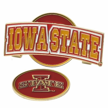 Iowa State Slider Clip With Ball Marker