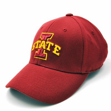 Iowa State Team Color Premium FlexFit Hat