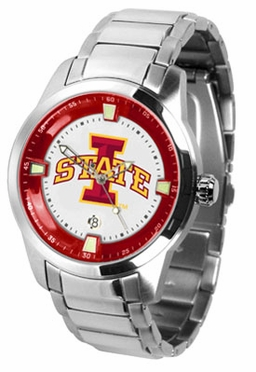 Iowa State Titan Men's Steel Watch