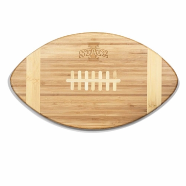Iowa State Touchdown Cutting Board