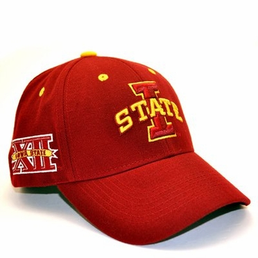 Iowa State Triple Conference Adjustable Hats