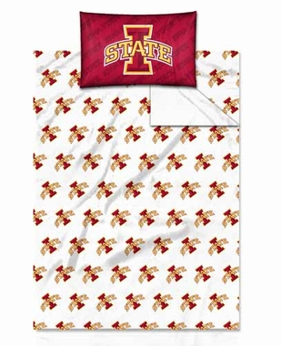 Iowa State Twin Sheet Set
