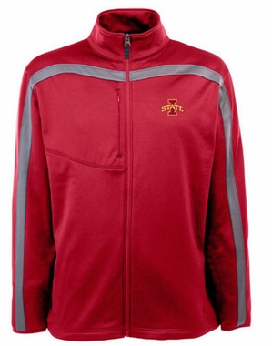Iowa State Mens Viper Full Zip Performance Jacket (Team Color: Red)