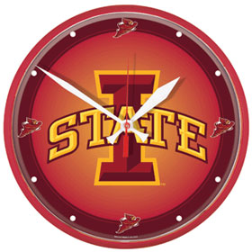 Iowa State Wall Clock