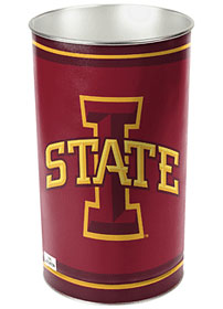 "Iowa State Cyclones 15"" Waste Basket"