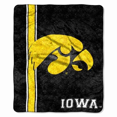 Iowa Super-Soft Sherpa Blanket