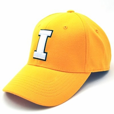 Iowa Team Color Premium FlexFit Hat - Small / Medium