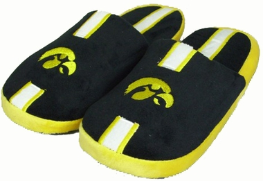 Iowa Team Stripe Slide Slippers