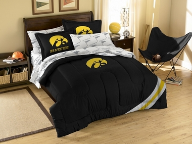 Iowa Twin Comforter and Shams Set
