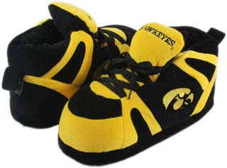 Iowa UNISEX High-Top Slippers - Small