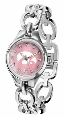 Iowa Women's Eclipse Mother of Pearl Watch