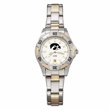 Iowa Womens All Pro Two Tone Watch
