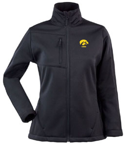 Iowa Womens Traverse Jacket (Team Color: Black) - Large