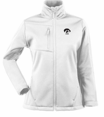 Iowa Womens Traverse Jacket (Color: White)