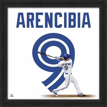 """J.P. Arencibia, Blue Jays UNIFRAME 20"""" x 20"""""""