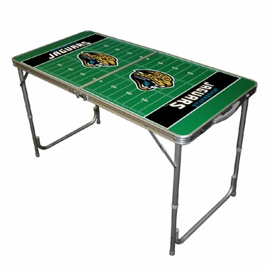 Jacksonville Jaguars 2 x 4 Foot Tailgate Table