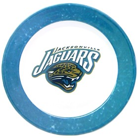 Jacksonville Jaguars 4 Piece Dinner Plate Set