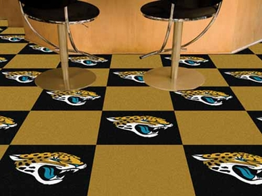 Jacksonville Jaguars Carpet Tiles