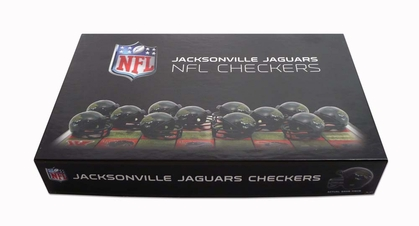 Jacksonville Jaguars Checkers Set