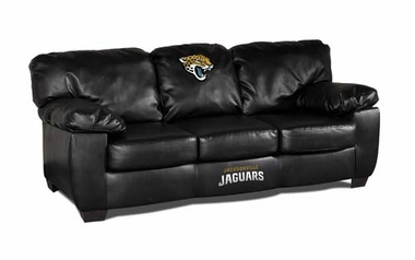 Jacksonville Jaguars Leather Classic Sofa