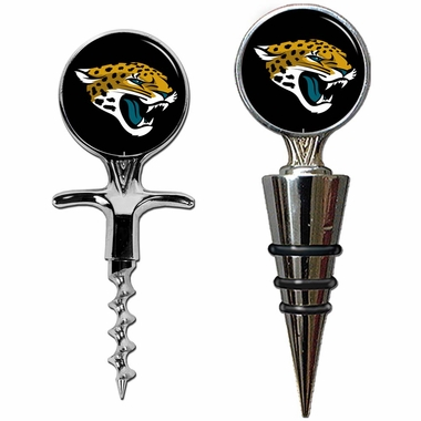 Jacksonville Jaguars Corkscrew and Stopper Gift Set