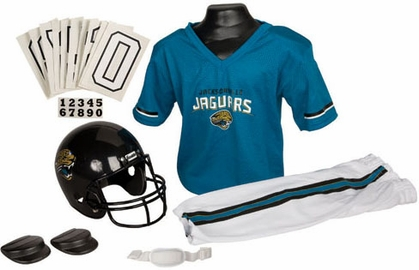 Jacksonville Jaguars Deluxe Youth Uniform Set