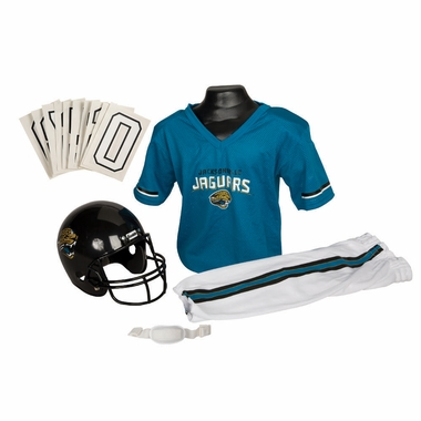 Jacksonville Jaguars Deluxe Youth Uniform Set - Medium