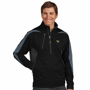 Jacksonville Jaguars Mens Discover 1/4 Zip Pullover (Team Color: Black)