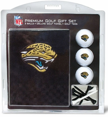 Jacksonville Jaguars Embroidered Towel Gift Set