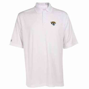 Jacksonville Jaguars Mens Exceed Polo (Color: White)