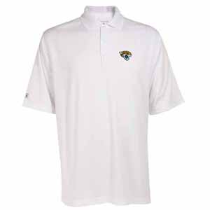 Jacksonville Jaguars Mens Exceed Polo (Color: White) - Medium
