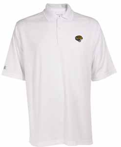 Jacksonville Jaguars Mens Exceed Polo (Color: White) - XXX-Large
