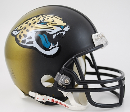 Jacksonville Jaguars Football Helmet - Mini Replica